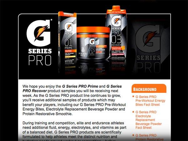 eMNR - Gatorade / G Series Pro