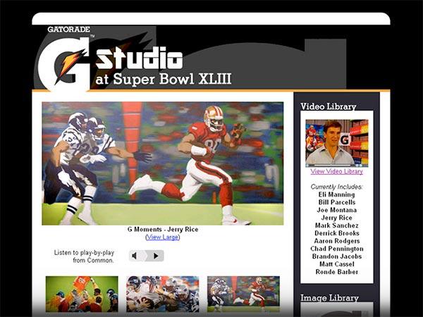 eMNR - Gatorade / G Studio at Super Bowl XLIII