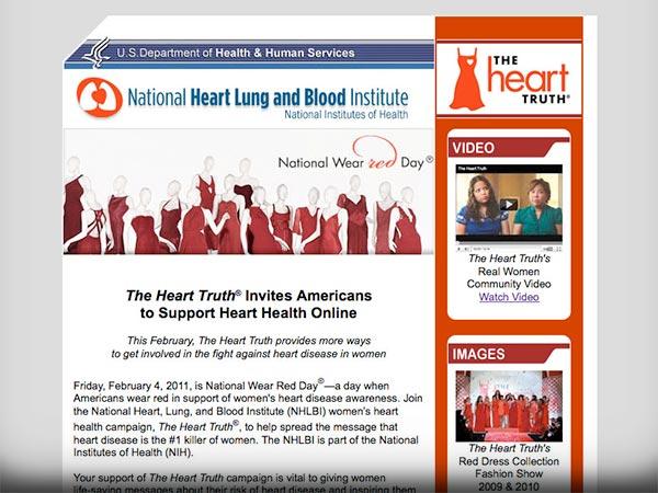 eMNR - NHLBI / Support Heart Health Online
