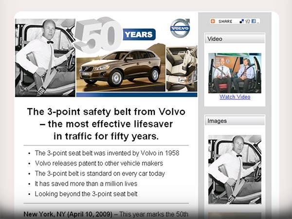 eMNR - Volvo / 3-Point Safety Belt 50 Year Anniversary