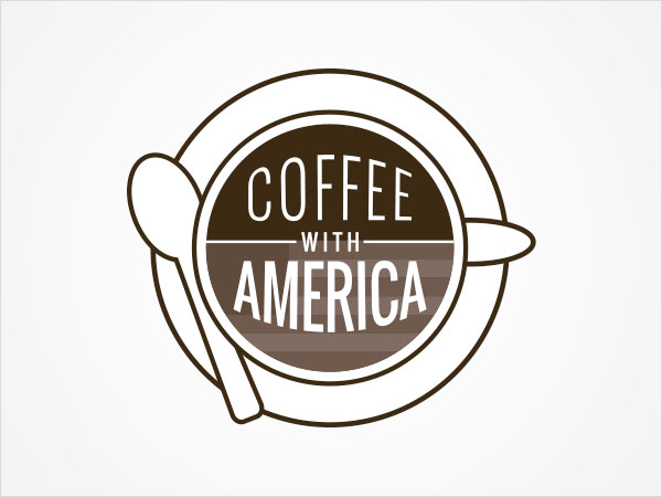 Logo - Coffee with America