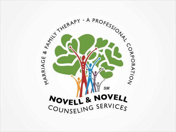 Logo Design - Novell & Novell Counseling Services