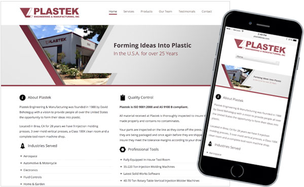 Web - Plastek Engineering & Manufacturing, Inc.
