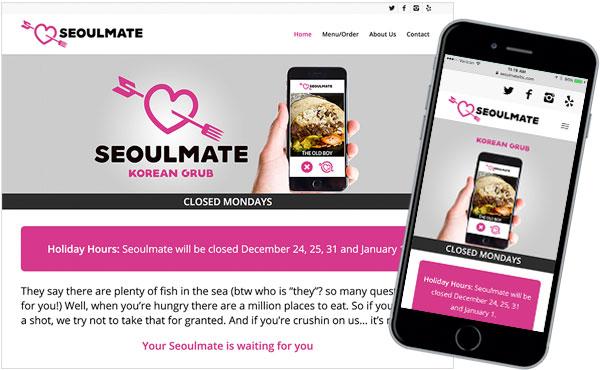 Web - Seoulmate, Korean Grub